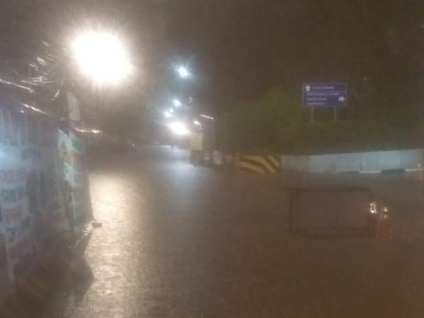 Jakarta Diguyur Hujan, Underpass Karet Bivak Banjir 25 Cm