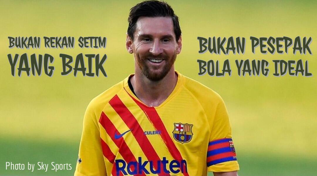 Duh, Karakter Buruk Lionel Messi Dibuka ke Publik