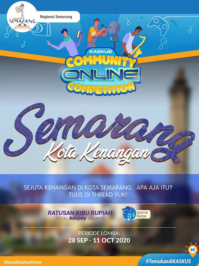 Coc Regional, Semarang Kota Kenangan
