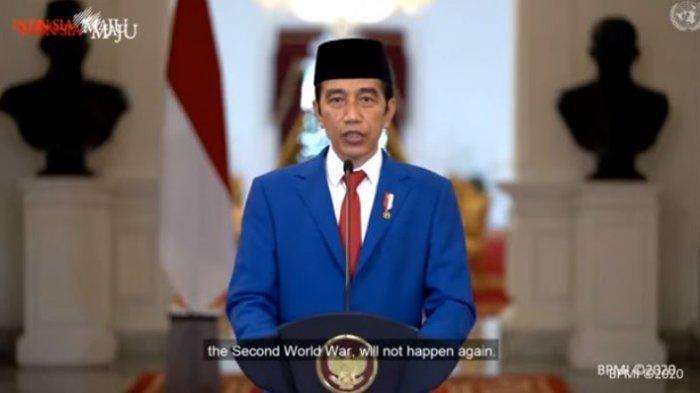 Pakai Bahasa Indonesia, Jokowi Pidato di Sidang Umum PBB untuk Pertama Kali