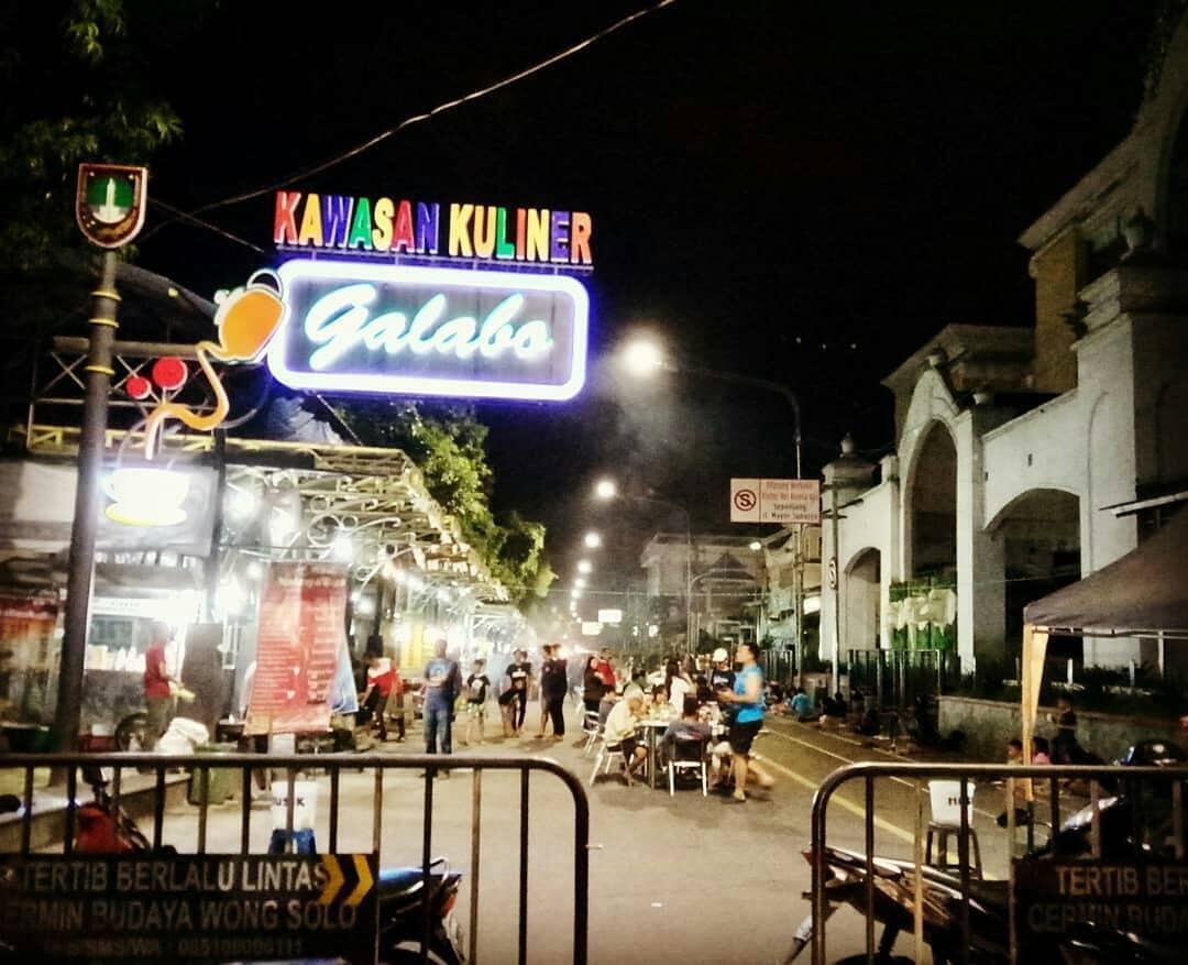 [COC. Reg Solo] Lengkap dan Nikmat! Yuk, Wisata Kuliner Malam di Galabo Solo