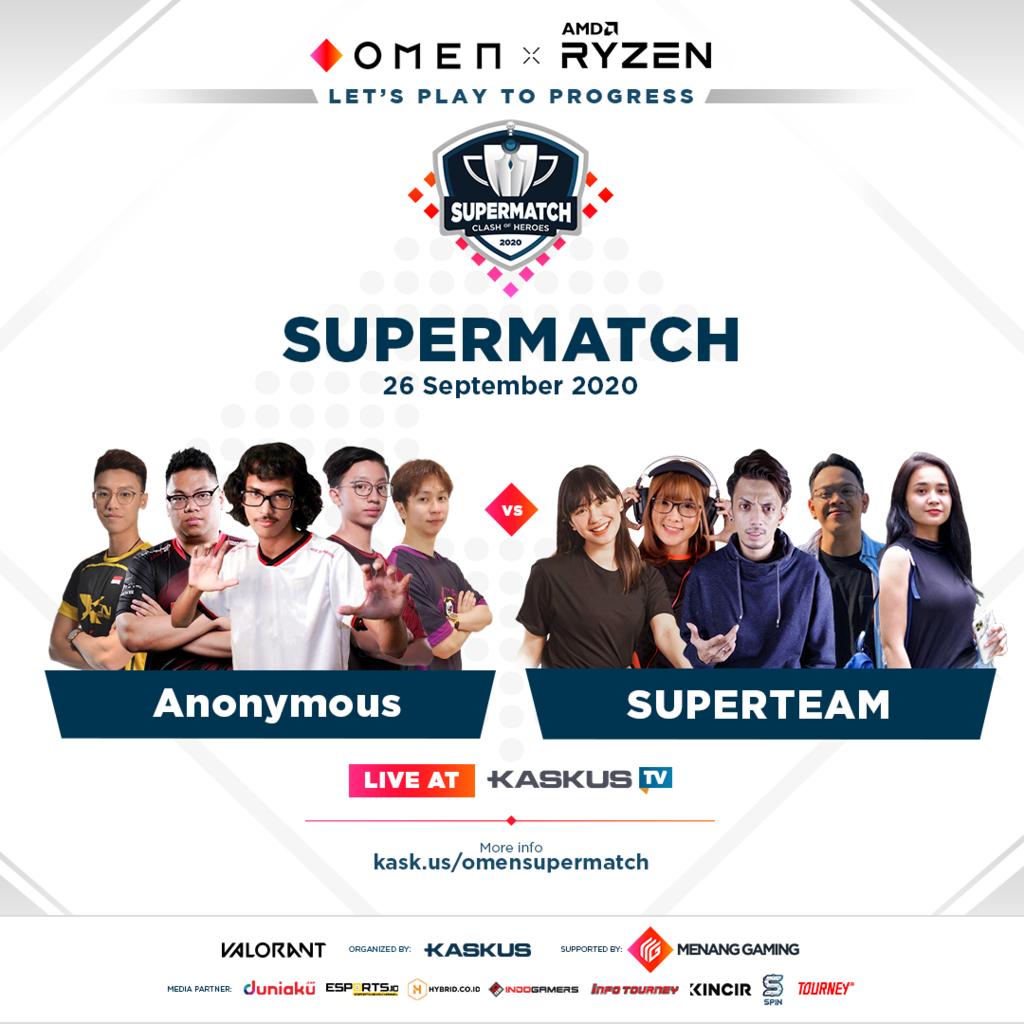 Selamat, Tim Anonymous Keluar Sebagai Juara OMEN Class of Heroes Supermatch