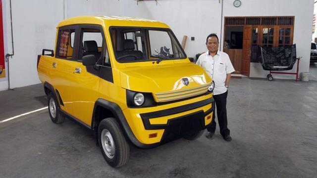 Yuk Kenalan Ama Mahesa, Mobil Bumble Bee Buatan Asli Indonesia