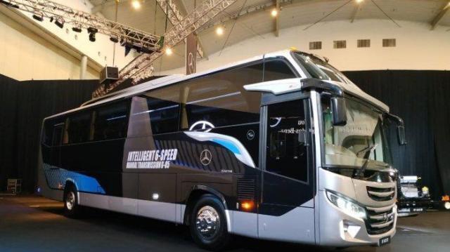Mengenal Lebih Dekat Mercy OF 1623 RF, Bus Bermesin Depan Dari Mercedes Benz