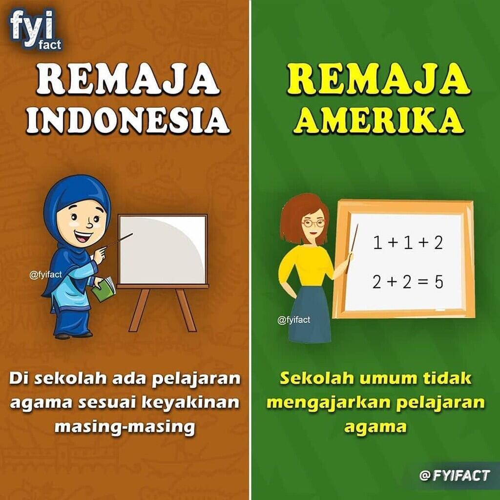Perbedaan Remaja Indonesia Dengan Amerika