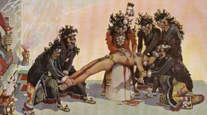 5 Peradaban Yang Menumbalkan Manusia