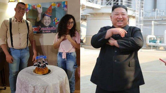 Duh! Gagal Paham Soal KPOP, Sosok 'Kim Jong Un' Malah Jadi Tema Pesta Ultah !