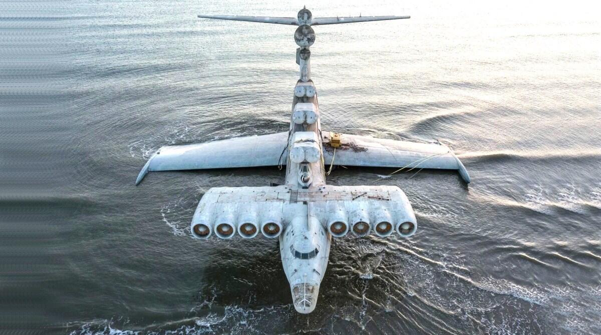 Foto Penampakan 'MONSTER LAUT' Alias MD-160 Milik Soviet Yang Kini Terdampar