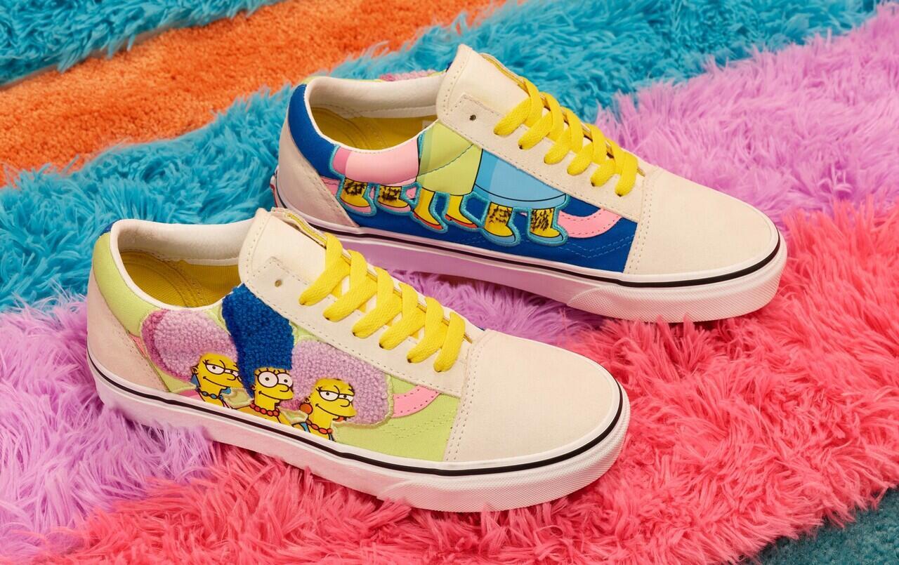 Vans Kolaborasi dengan The Simpsons, Bikin Sepatu Makin Colourful!