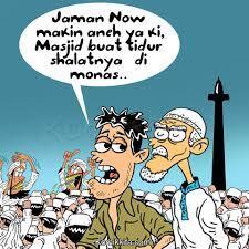 Denny Siregar: Salat di Jalan, Nonton Film G30S di Masjid, Kadrun....