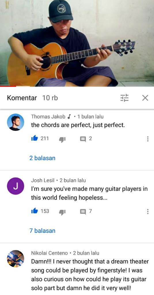 Ini Dia Gitaris Terbaik Dunia; Ternyata Berasal Dari Indonesia.