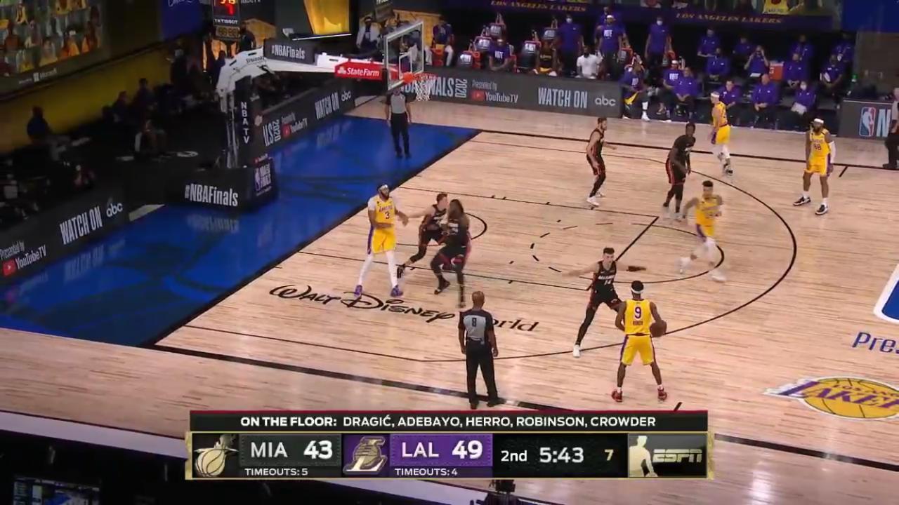 Lakers Perkasa atas Heat di Game 1 Final NBA 2020