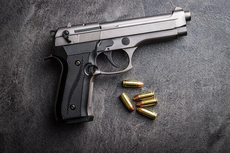 Acungkan Pistol di Jalan Raya, Seorang Polisi Ditahan