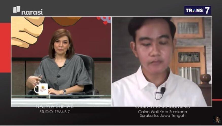 Dicecar Najwa, Jawaban Gibran Jadi Sorotan, Netizen: Astaghfirullah, Gak Nyambung!