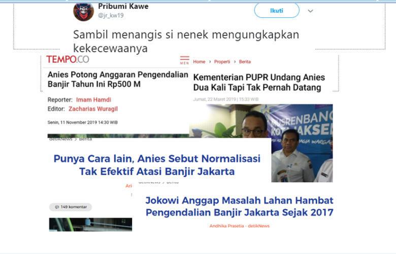 Pemprov Jawab Kritik soal Banjir-Rumah DP Rp 0 Tiga Tahun Anies Pimpin DKI