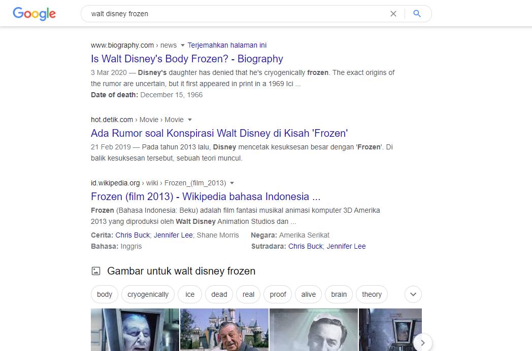 Teori Konspirasi Dibalik Pembuatan Film Disney Frozen