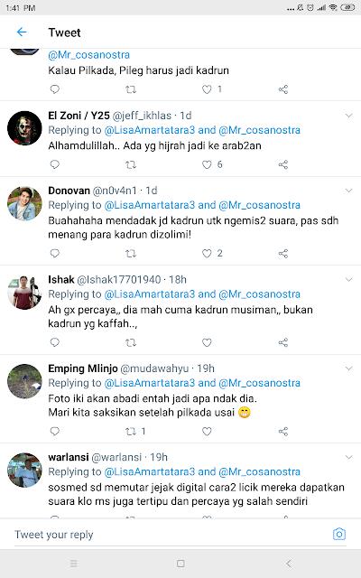 Mantu Jokowi Tampil Kearab-araban jelang Pilkada, Netizen: Mendadak Kadrun