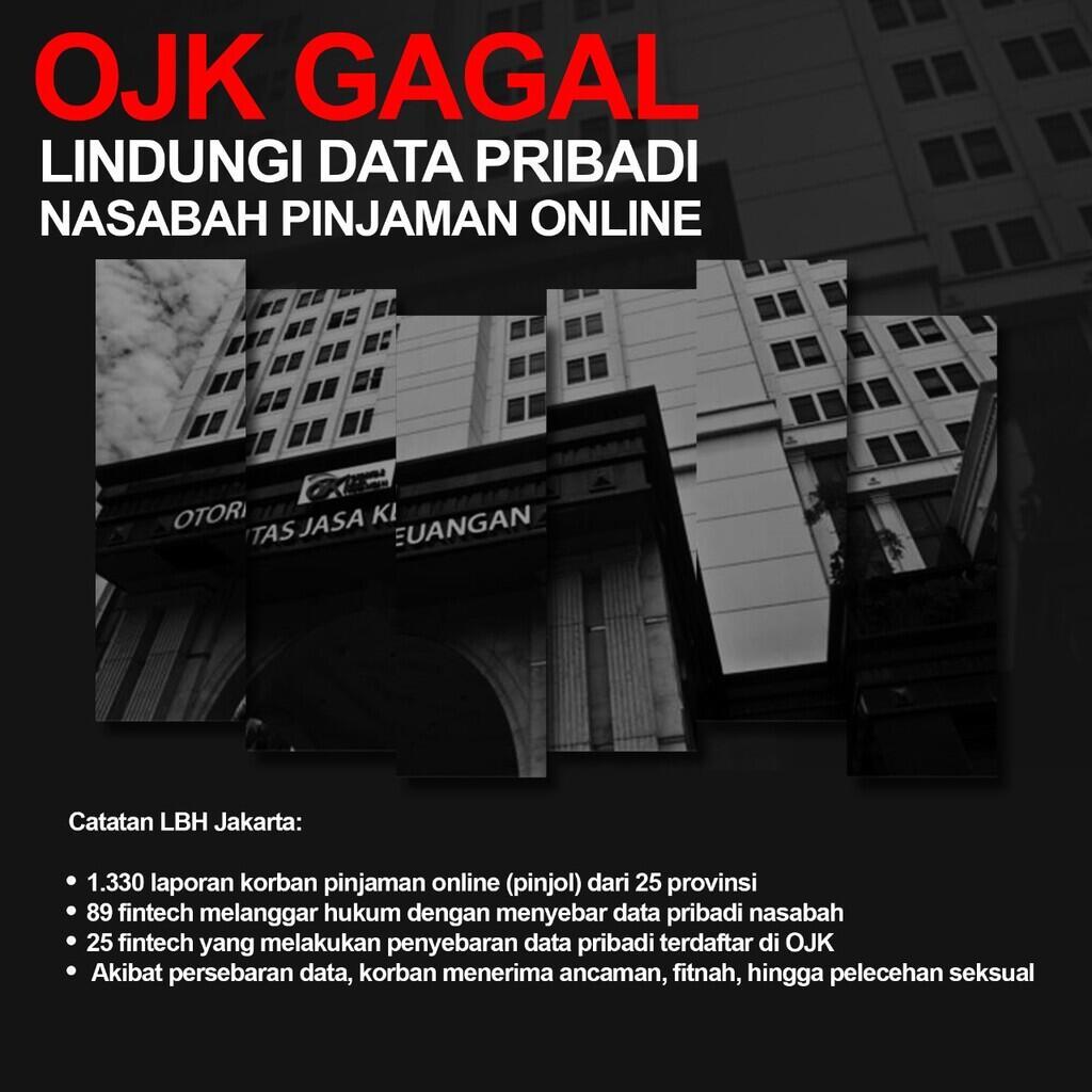 Korban Pinjaman Online Gugat Ojk Karena Data Pribadi Disebarluaskan Kaskus