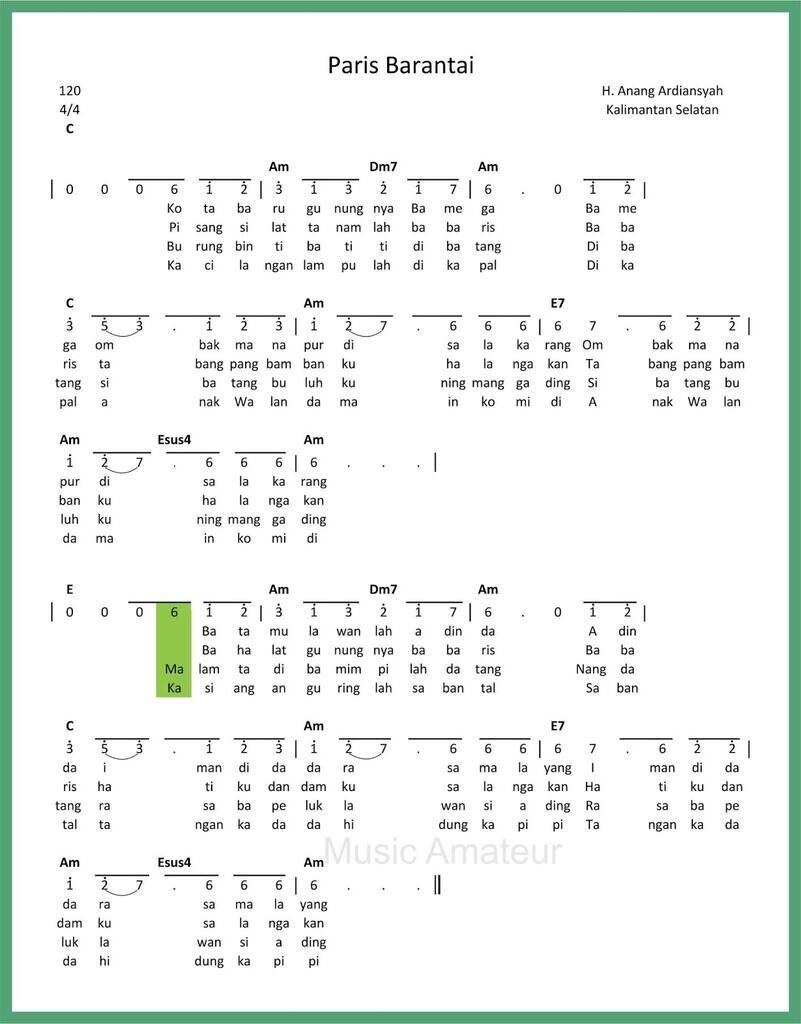 [COC Reg. KalSel] Harmoni KalSel Lewat Lagu Ampar-Ampar Pisang dan Paris Barantai