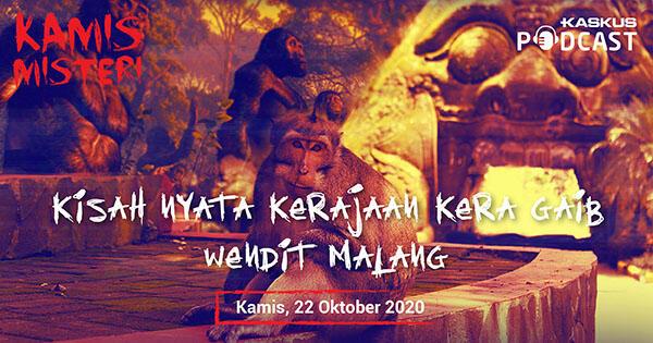 Kisah Nyata Kerajaan Kera Ghaib Wendit Malang