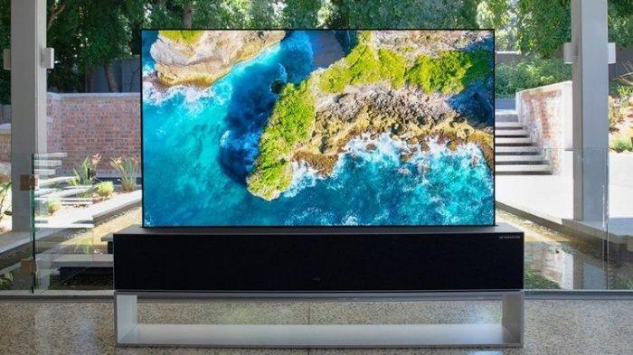 LG Jual TV yang Bisa Digulung, Gak Usah Lihat Harganya Gan!