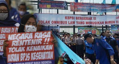 PKS dan Demokrat Ditantang Buruh: Jangan Berlindung di Balik Massa Aksi!