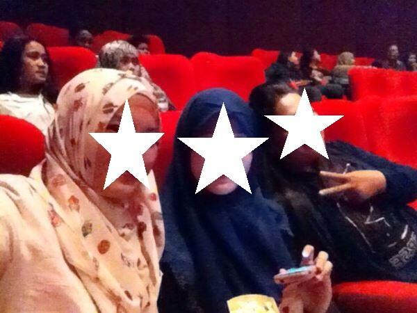Diisengin Penunggu Bioskop