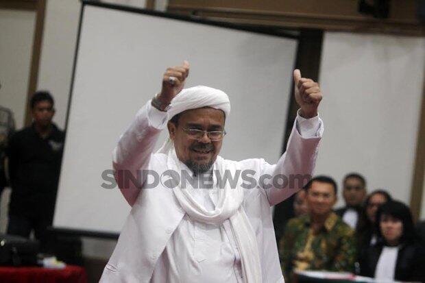 Beredar di Medsos, Video Ucapan Selamat Jalan Habib Rizieq ke Indonesia