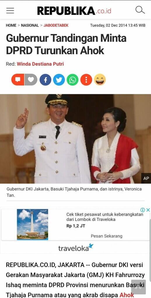 Fahrurrozi Ishaq, 'Gubernur Bayangan' Lawan Ahok, Meninggal karena Corona