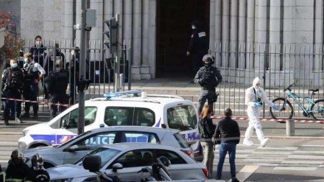 Tiga Orang Tewas Ditusuk di Gereja Prancis, Pelaku Teriak Allahuakbar!