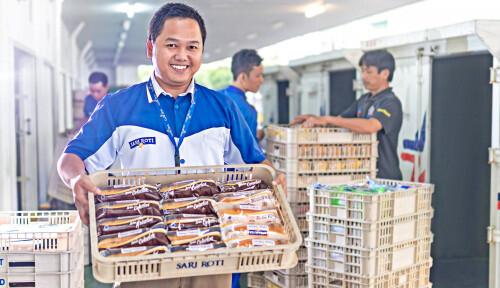 Tahun Ini Sari Roti Cuan Gede-gedean, Penjualannya Tembus Rp2,4 Triliun!