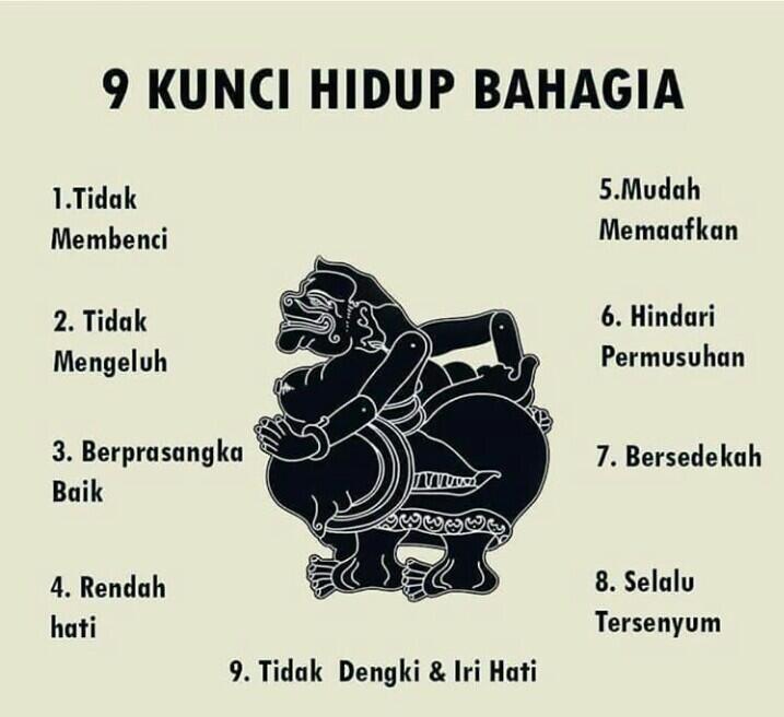 9 KUNCI HIDUP BAHAGIA
