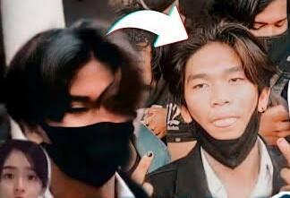 Viral! Sukses Pakai Masker Bikin Wanita 'Klepek-Klepek' Tapi Ujungnya Ambyar !