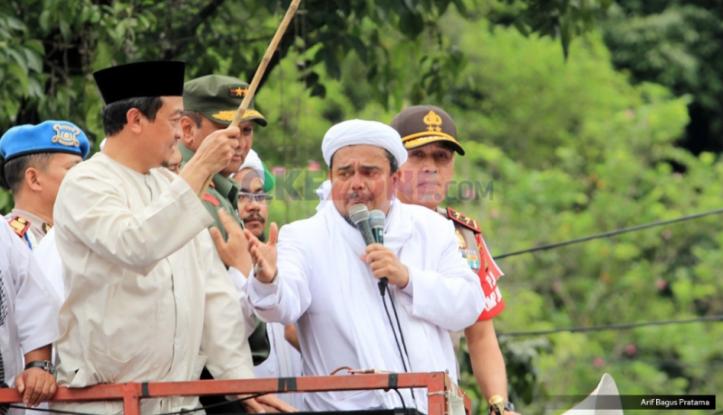 Disambut Ribuan Orang, Ini Rute Kedatangan Habib Rizieq di Indonesia