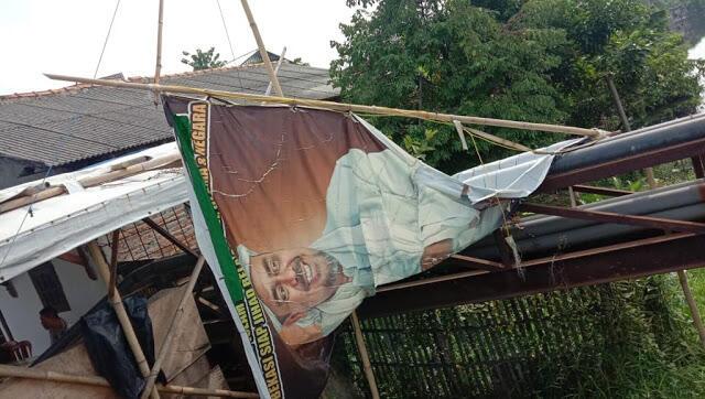 Spanduk Habib Rizieq Dirusak, FPI Geram: Cara Kotor Kalian Membuat Kami Makin Cinta