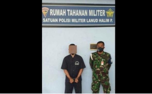 Prajurit TNI AU Diborgol Diduga yang Teriak 'Kami Bersamamu Habib Rizieq'