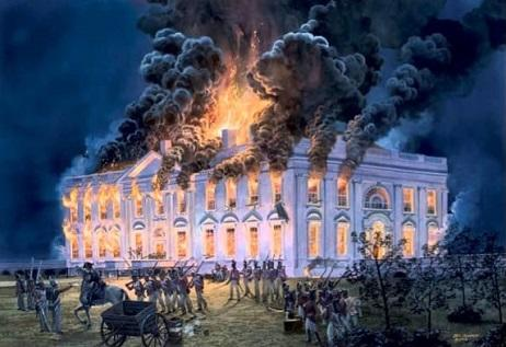 Pembakaran Gedung Putih 1814 : Tragedi Tidak Terlupakan Dalam Sejarah Amerika Serikat