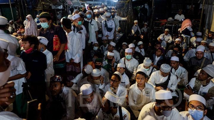Maulid Nabi di Markas FPI, Megawati dan Jokowi Didoakan Umurnya Pendek