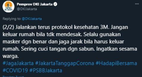 Putri Rizieq Nikah, Cuitan Pemprov DKI Jakarta Bikin Publik Naik Pitam