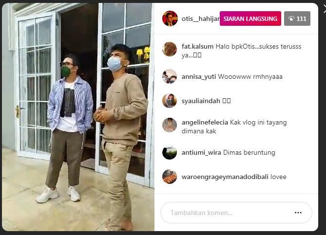 "Dimas ""Ahmad"" Dari Jualan Bakso Sampai Bertemu Bos AN TV Pak Otis"