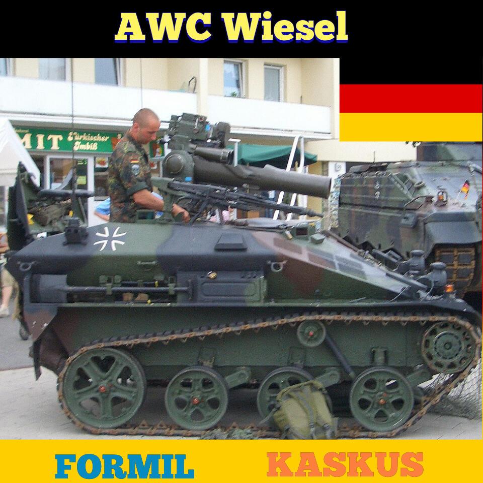 AWC Wiesel, Tank Berukuran Mungil Buatan Jerman