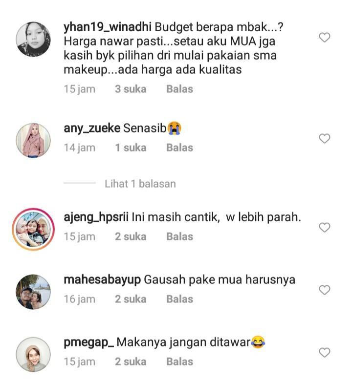 Wajah Cantiknya Berubah Kaku dan Galak Usai Dimakeup! Netizen: Budgetnya Berapa, Kak?