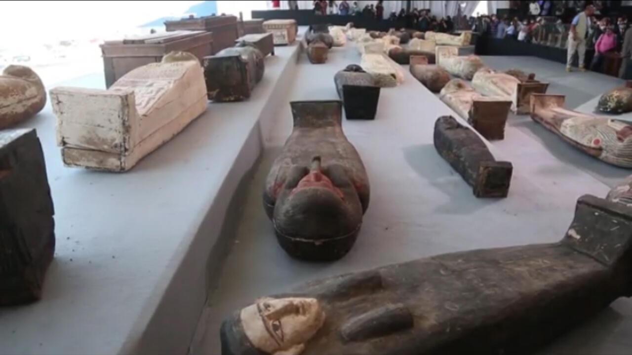 Penemuan Besar Soal Harta Karun di Kairo, No 4 Menunjukan Prosses Mumifikasi