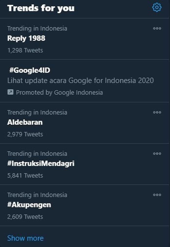 Aldebaran Trending, Warga Indonesia Ditegur, Yang Dimaksud Lain! Malunya Tuh Disini
