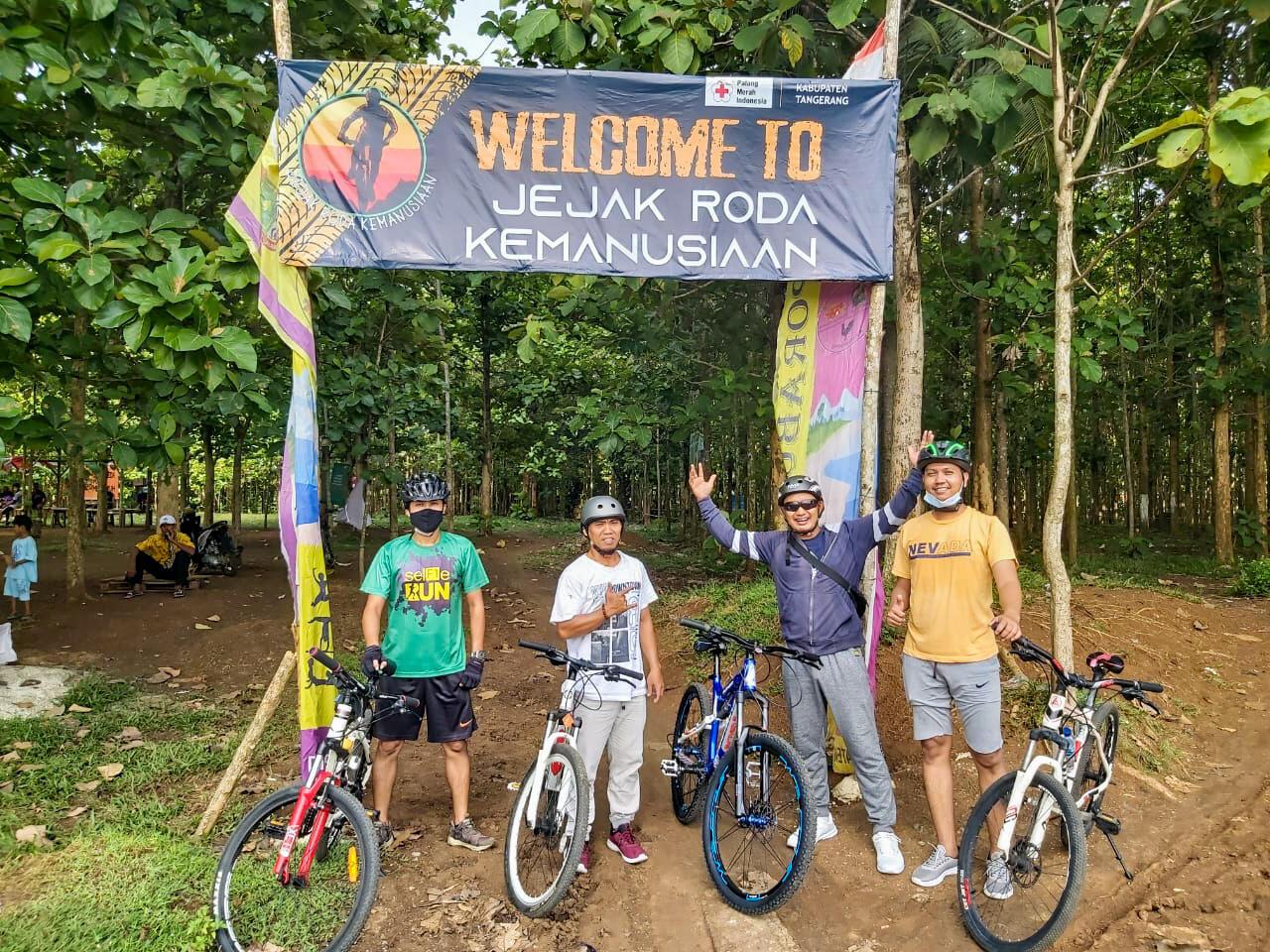 Pengalaman Gowes Jalur Sepeda Hutan Jati Pasar Kemis Tangerang
