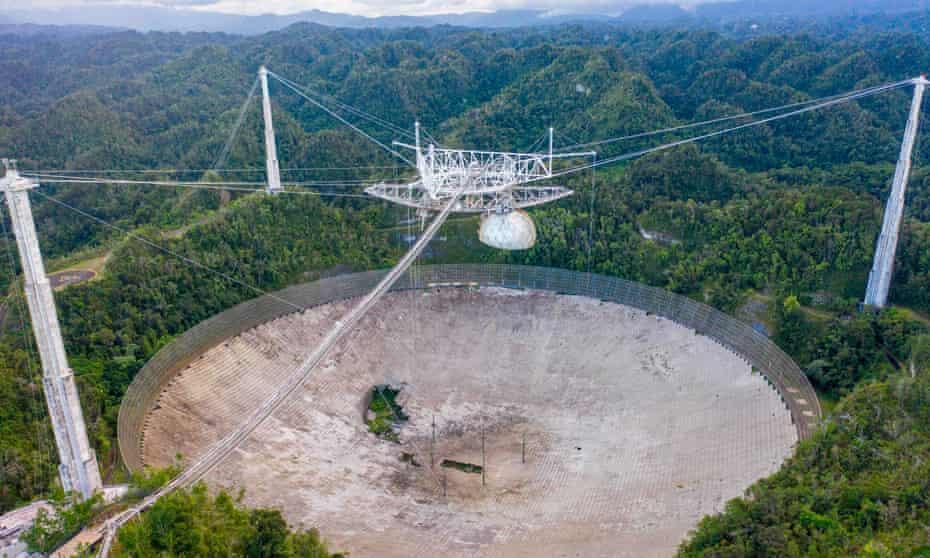 Setelah 57 Tahun, Akhirnya Teleskop Luar Angkasa Arecibo Ditutup Secara Permanen