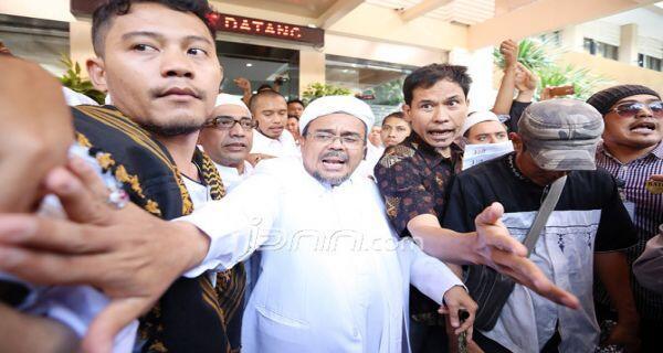 Dianggap Bawa Kegaduhan, Habib Rizieq Ditolak Warga Solo, Polisi Turun Tangan