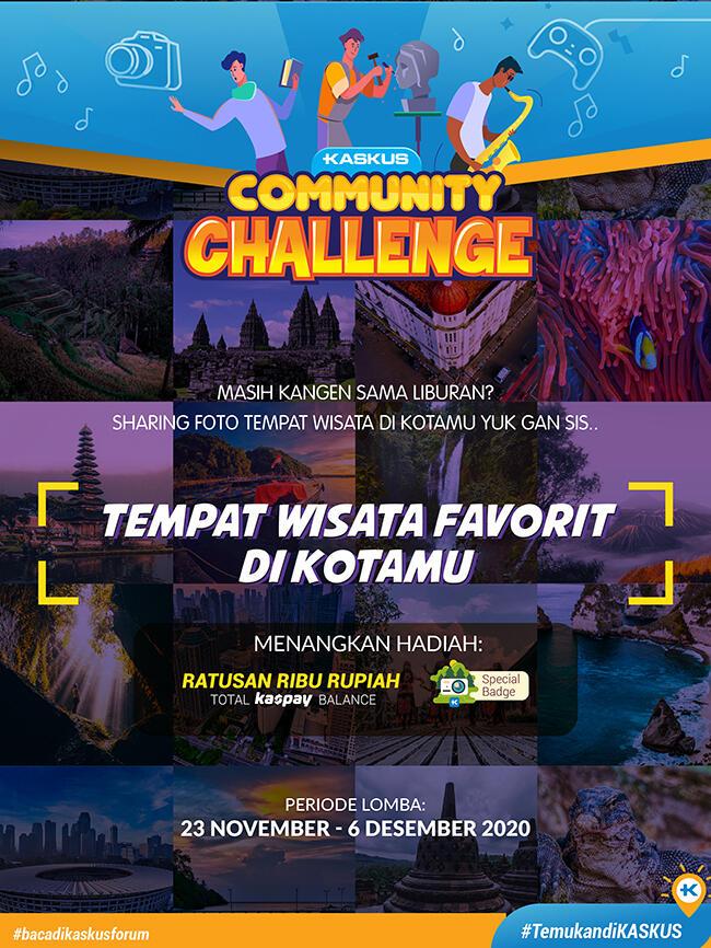 Travellers Ayo Ikutan Community Challenge Tempat Wisata Disekitarmu