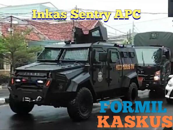 Inkas Sentry APC, Rantis Koopssus TNI yang Show of Force di Markas FPI Petamburan