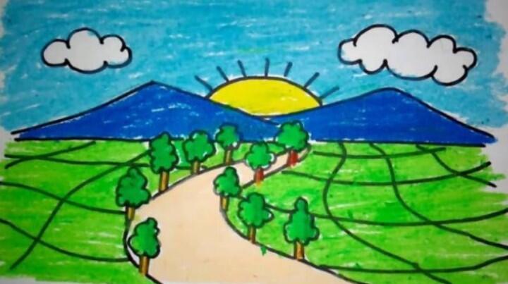 Pencetus Lukisan Gunung Kembar Ada di Gambar Google Hari Guru Nasional, Kepoin Yuk!